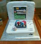 Nintendo DS Lite cake