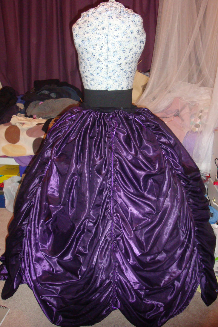 purple reign - skirt by tanmei