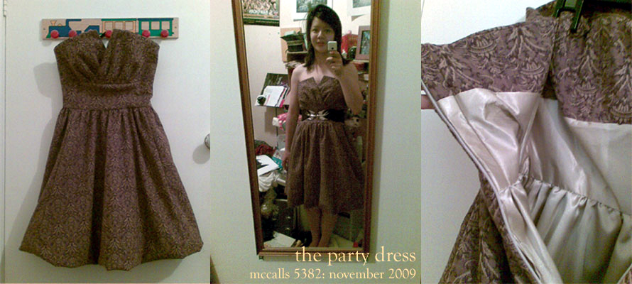 the PARTY dress. by tanmei