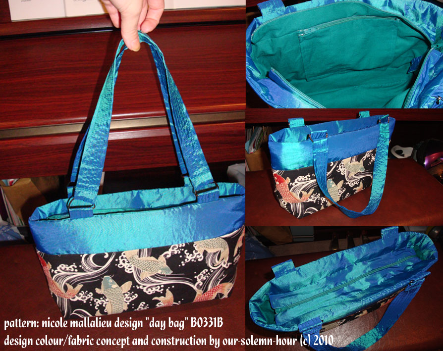 Koi fish handbag by tanmei