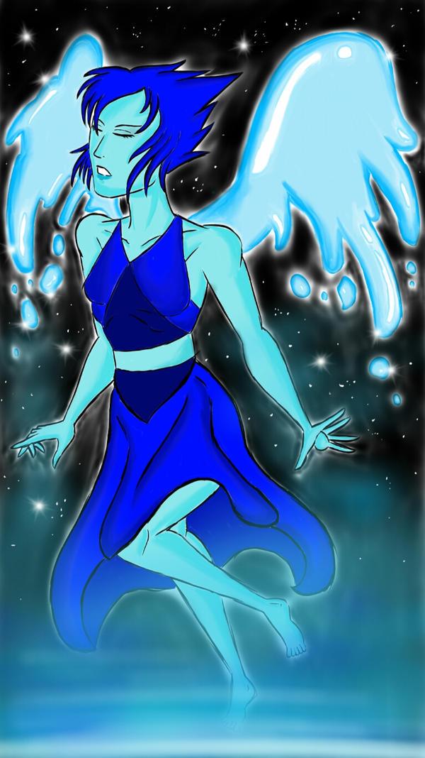 lapis lazuli steven universe fan art by bigbadmonster on
