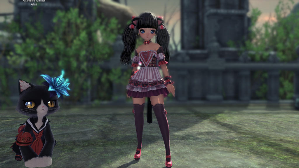 Blade and Soul - My current Summoner by Cynder66