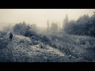 By one misty morning... by AlexGontar