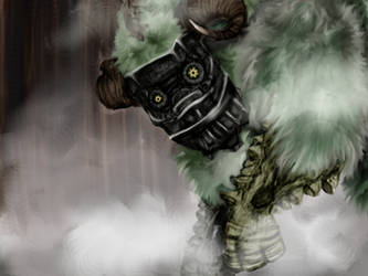 Shadow of The Colossus by SirRumJig