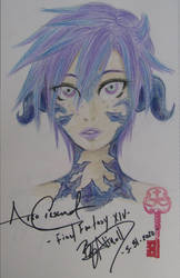 Arco Crescent ~FFXIV~ Headsketch