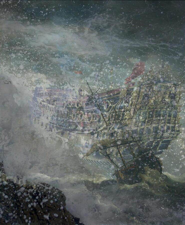 Sea Ghost by fpens
