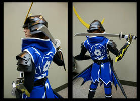 Cosplay: Date Masamune BACK