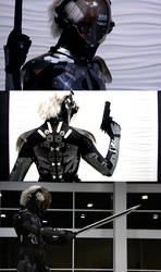 KatsuCon: Metal Gear NINJA by burloire