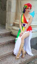 DragonCon: Rainbow Gala Girl
