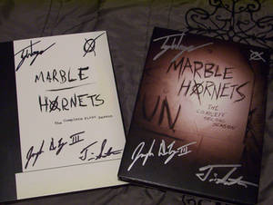 Marble Hornets DVDs for Mike