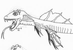 Alien species: Wyrm WIP