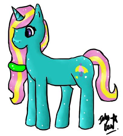 Dewdrop Dazzle by ponyfantasy