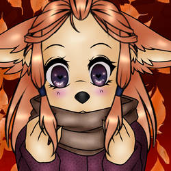 Fall Time Cutie by LilSyren