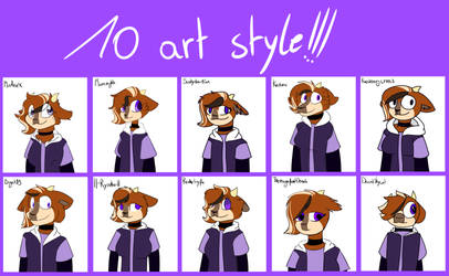 10 Art Style Friends Edition (2)