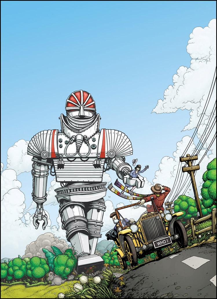 Professor Kettlewell's Robot by PaulHanley