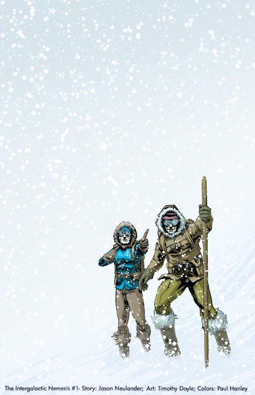 Cover-Intergalactic Nemesis 1 by PaulHanley