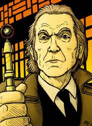 David Warner as the Doctor by PaulHanley