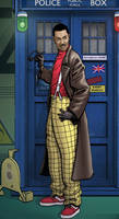 Lenny Henry as the Doctor
