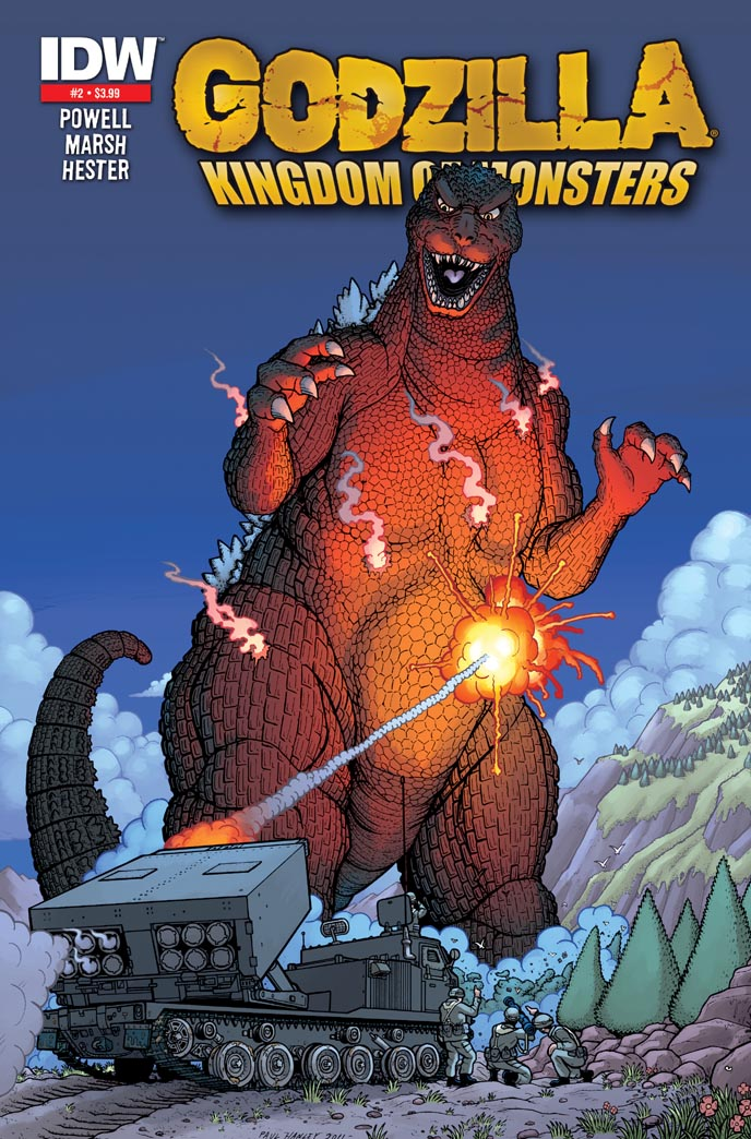 Godzilla Kingdom of Monsters 2 by PaulHanley