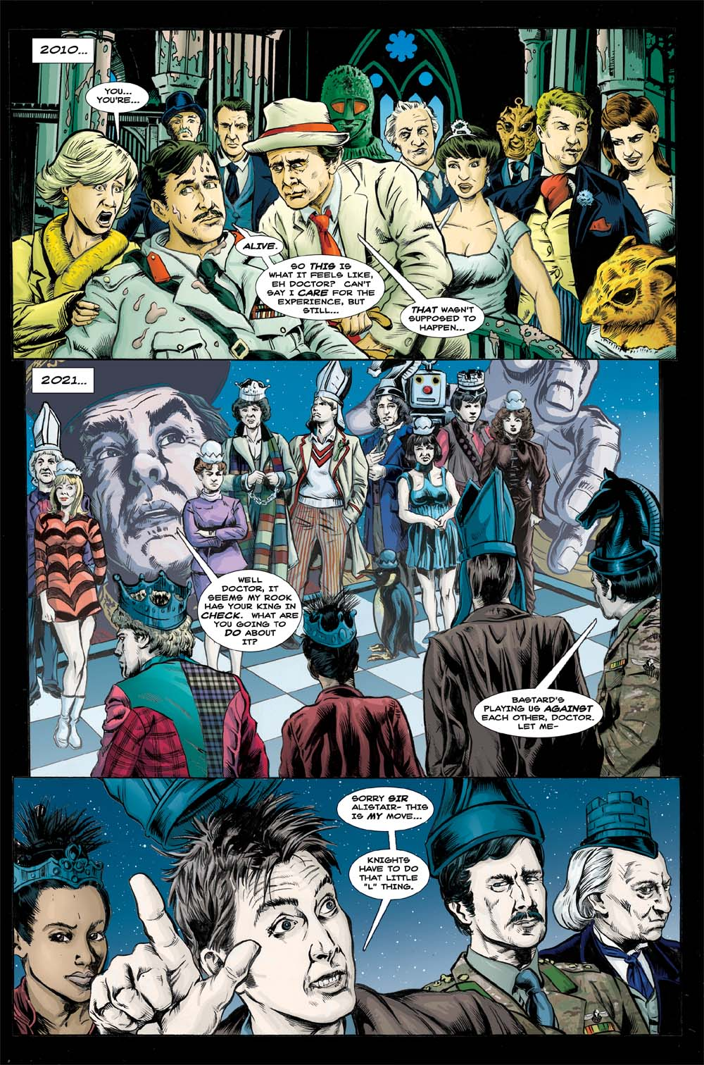 Doctor Who: Fade Away pg 4 by PaulHanley