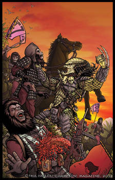 Alien Vs. Predator on the Planet of the Apes