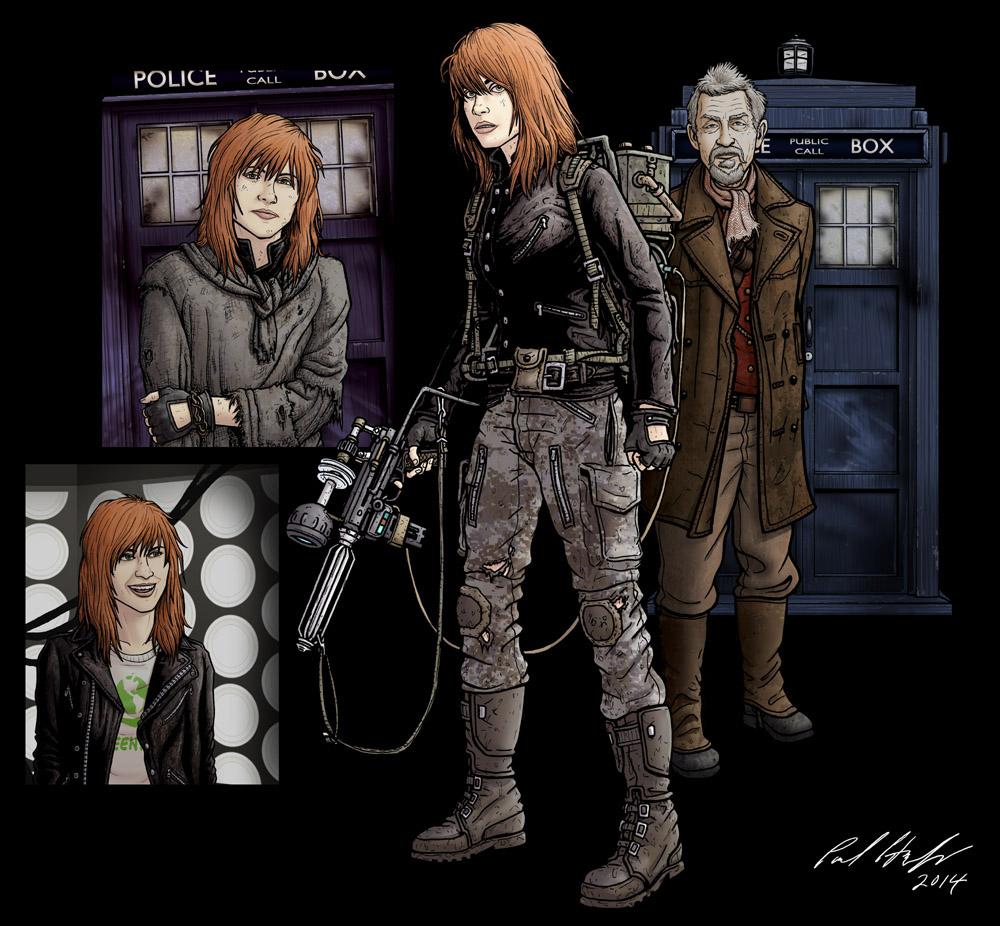 Cinder- the War Doctor's companion