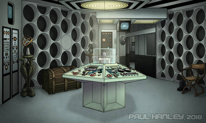 The Second Doctor's Console Room by PaulHanley