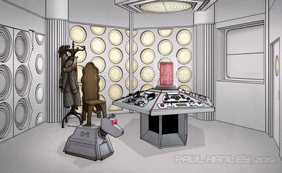 The 4th Doctor's Console Room by PaulHanley