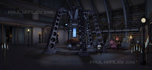 The TVM Console Room by PaulHanley