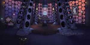 The TARDIS console room (Human Nature)