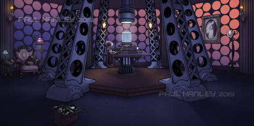 The TARDIS console room (Human Nature) by PaulHanley