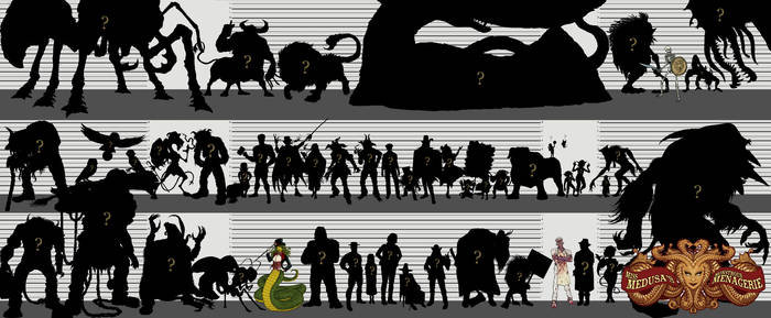 The Monstrous Menagerie (silhouettes teaser)