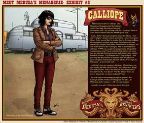 Meet Medusa's Menagerie: Calliope