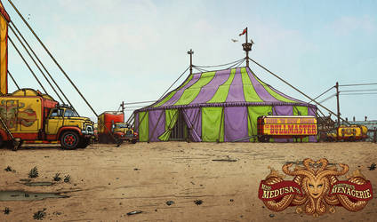 Bull Tent #1