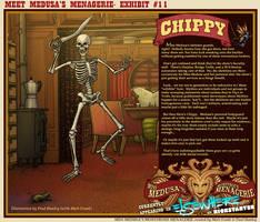 Meet Medusa's Menagerie: Chippy