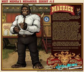 Meet Medusa's Menagerie: Maurice