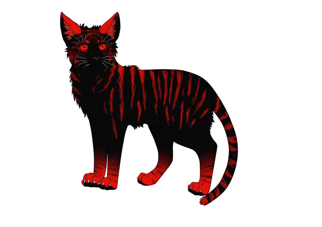 Devil Cat by DarkmoonX-1Yb