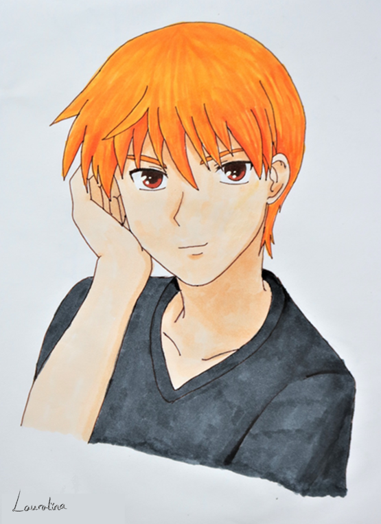 Fruits Basket Kyo by Lauralina