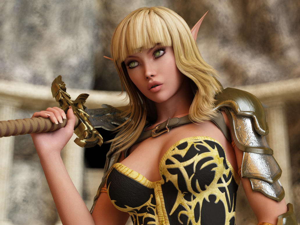 Pretty 3d elves gallery adult booty