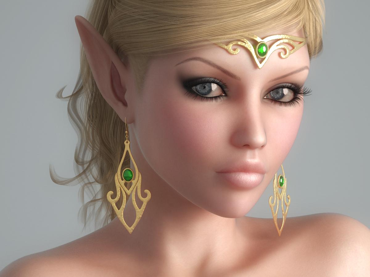 Elf fantasy 3d exploited gallery
