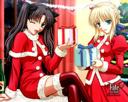 Fate Stay Nigt Cristmas by Soul-Tiger