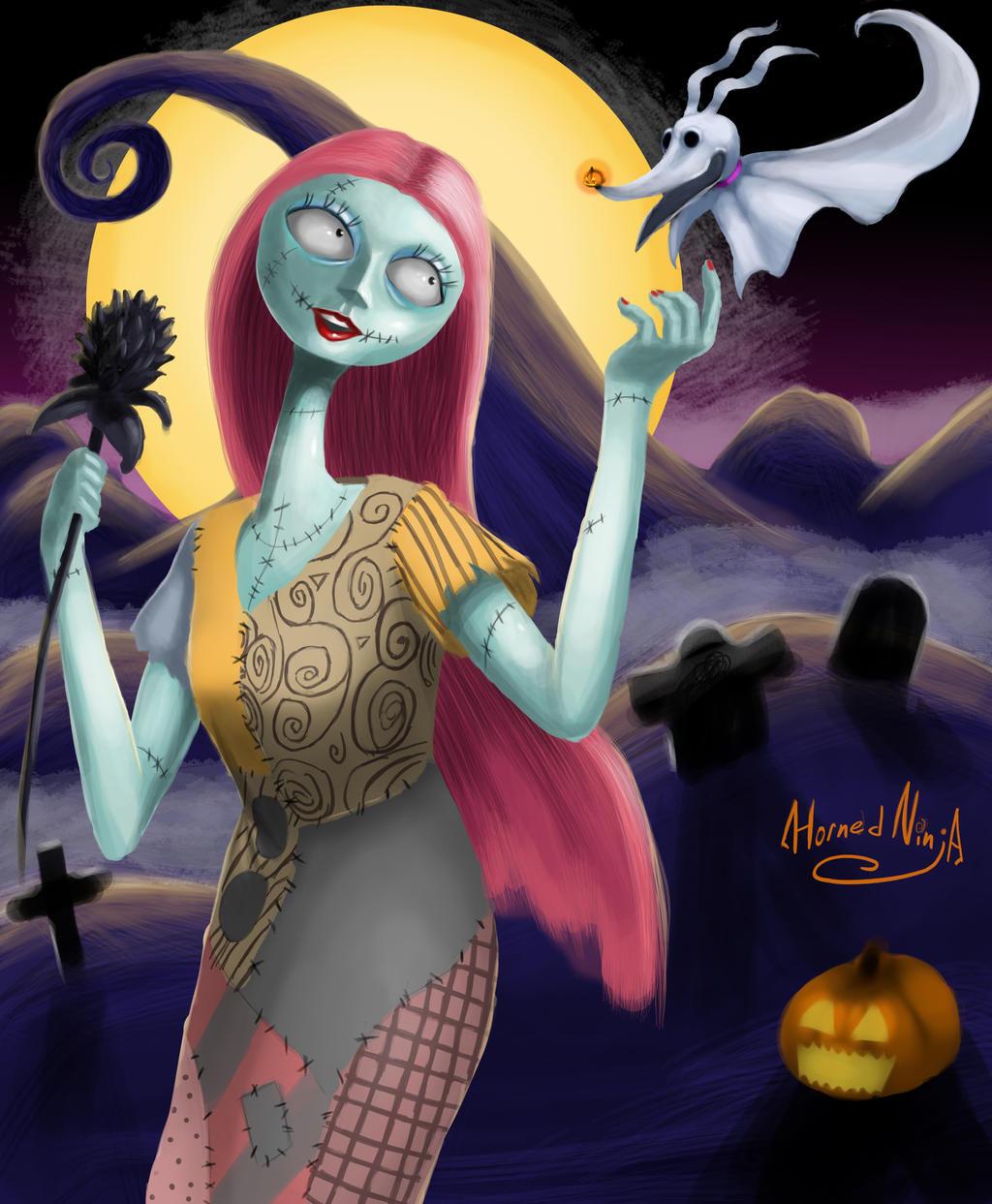 Sally, The Nightmare Before Christmas By HornedNinja On