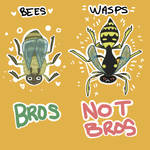 Bees are bros