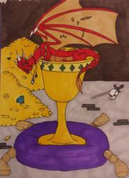 Commission: Dragon Grail