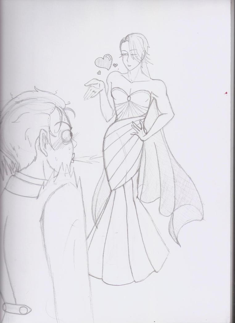Wedding Vikturi yes by Freddy-kun