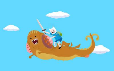 Finn and Dragon by Mangakami