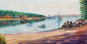 Gabriola Island -  Taylor Bay by Dennis64