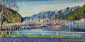 Horeshoe bay glory - cause its fun to paint