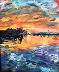 La Paz Sunset by Dennis64