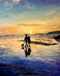 Tofino Sunset by Dennis64